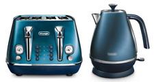 Delonghi KBI2001BL CTI4003BL Distinta Kettle & Toaster Pack - Blue - RRP $347.99