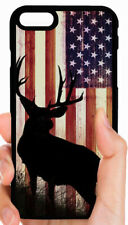 AMERICAN FLAG BROWNING BUCK CAMO PHONE CASE FOR IPHONE XS XR X 8 7 6S PLUS 5C 5
