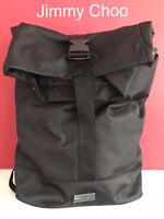 🆕JIMMY CHOO Rucksack Backpack Gym Weekend Bag Black BRAND NEW!!!!