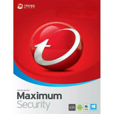 Trend Micro Maximum Security 2020 1 Year 3 Devices Global Key Instant Delivery
