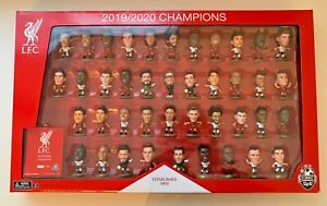 **LIVERPOOL FC OFFICIAL SOCCERSTARZ LIMITED EDITION COLLECTORS SET 1650/2020**