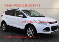 FORD KUGA mk2 5door SUV 2012-up REAR set Wind Deflectors HEKO TINTED RAIN GUARDS