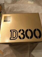EMPTY BOX FOR NIKON D300 used