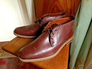 Men's Leather Shoes by Morley Size 11 Brown