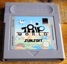 Jeu TRIP WORLD pour Nintendo Game Boy version FRG !!!! Rare