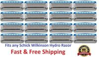 16 Schick Hydro5 Razor Blades Refills Cartridges fit Hydro Silk 5 Power Shaver