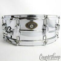 "*Tama Rockstar 14x5""Snare Drum Steel Chrome COS Shell 8-Lug Taiwan*"