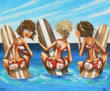 Dealer or Reseller Listed Medium (up to 36in.) Surfing Art