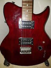 Lyon Washburn RARE FX-AXE 6-String Electric Guitar w On Board Effects Cherry Red