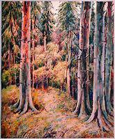 Brocken im Harz, Aquarell 1939, Paul Groß 1873-1942 Neue Sachlichkeit Ausstellun