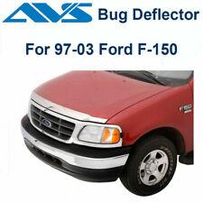 AVS Fits 1997-2003 Ford F150 Aeroskin Chrome Hood Protector Bug Shield 622012