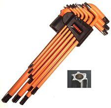 GOBEST torx security tamperproof allen key set 9 pcs magnetic, long arm GB-0022