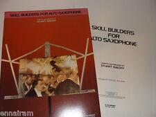 Stuart Isacoff Skill Builders for Alto Saxophopne 2 folios Piano & Sax 1979