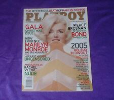 PLAYBOY MAGAZINE: DECEMBER 2005 ISSUE