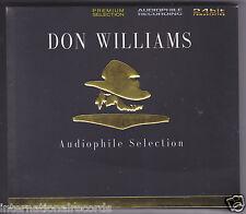 """Don Williams Audiophile Selection"" Premium Records 24bit/192kHz Re-mastering CD"