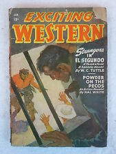 EXCITING WESTERN  January 1948  Vol. 14, No. 3  Better Publications, Inc.