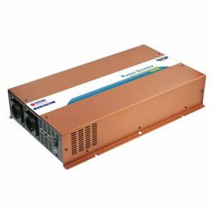 Titan HW-2500UY Power Inverter 2500 W Pure Sine Wave 12V Dc Schlafmodus New