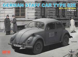 RFM Ryefeild Model German Staff Car Type 82E w/ Full Interior Details 1/35 5023