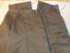 savane 36 x 34 pleated no cuffs 50% polyester 35% rayon 15% linen #365