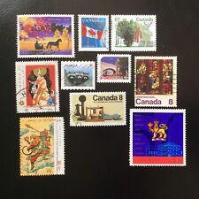 Lot de 10 timbres du Canada années Diverses - H39