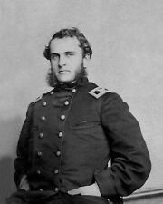 Union Army Colonel STRONG VINCENT Glossy 8x10 Photo Civil War Print Gettysburg
