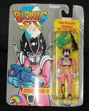 1986 LJN Bionic Six MADAME-O die cast figure Vintage NRFP