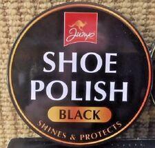 Shoe Polish Large Black (6 Tins x 80 g)