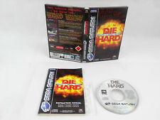 Die Hard Trilogy Sega Saturn Complete PAL