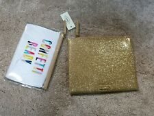 Fossil Double Pouch Champagne