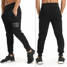 Men Sports Gym Pants Slim Fit Running Joggers Casual Long Trousers Sweatpants