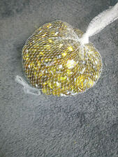 Decorative Gold Flat Bottom Marbles 1 Pound