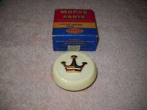 NOS Mopar 1955-1956 Chrysler Rear Inside Courtesy Lamp Lens Super Rare Mint!