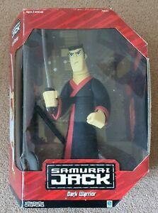 Samurai Jack dark warrior action figure 10-inch with original box
