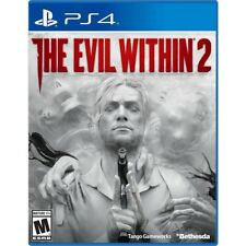 THE EVIL WITHIN 2 (PLAYSTATION 4) PS4 - BRAND NEW/SEALED - RELEASE DAY DELIVERY!