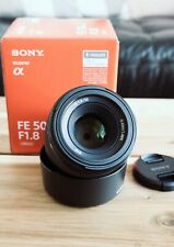 Sony Alpha SEL 50mm f/1.8 FE Full Frame Lens
