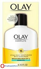 BL Olay Complete Moisturizer Sensitive Spf#15 4 oz - Two PACK