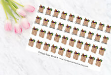 Grocery Shopping Functional Planner Stickers, All Types of Planners Erin Condren