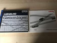 More details for 2x marklin 0700 gleisanlagen k+m & 0720 k-gleisanlagen fur einsteiger german