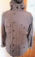 Fred Perry Hooded Parka Sailing Deck Jacket  L XL Ska Mod Scooter Casuals