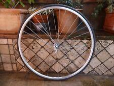 Vintage Campagnolo Super Record front wheel clincher  L'Eroica