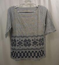Women's Lucky Brand Embroidered Shirt Medium NWT