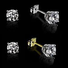 Pendientes de joyería con diamantes en oro amarillo SI1