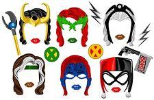 DIGITAL Super hero woman villains photo booth props NO PHYSICAL ITEM