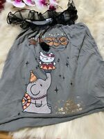 Hello Kitty Oysho cotton gray Camisole Top sleepwear nightwear size S