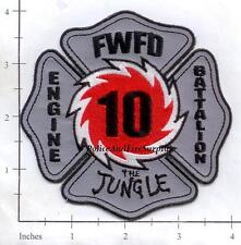 Indiana - Fort Wayne Station 10 IN Fire Dept Patch - The Jungle