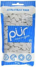 Pur  Peppermint Gum Bag 100g (Pack of 12)