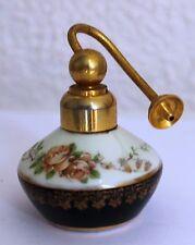 Vapo ancien en porcelaine de Limoges Lemaire Frères - Décor floral