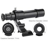 Datyson 5x24 Guide Scope Finderscope w/ Bracket Mount For Astronmical Telescope