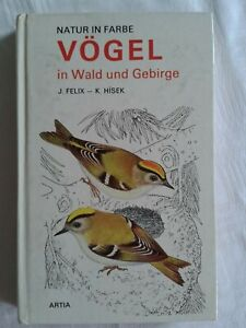 Natur in Farbe - Vögel in Wald und Gebirge, Tierfachbuch 1977