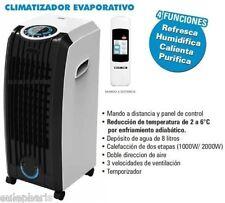 "Climatizador Evaporativo ""Portatil"" HUMIDIFICADOR,ventilador,Acondicionado, Aire"